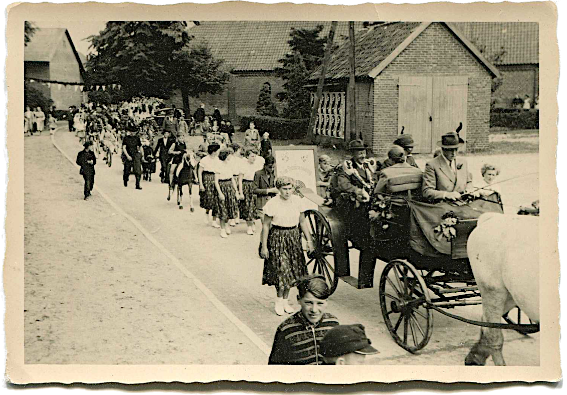 Schützenfest-Umzug ca. 1952